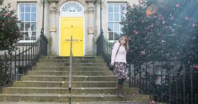 A guide to buying jersey dresses. Styling a Joe Browns floral dress