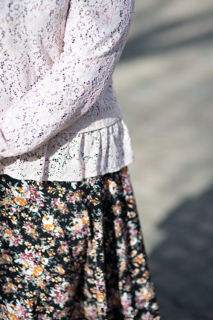 British fashion blogger over thirty