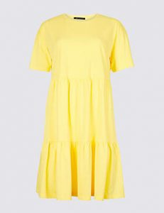 Marks and spencer yellow sun dress