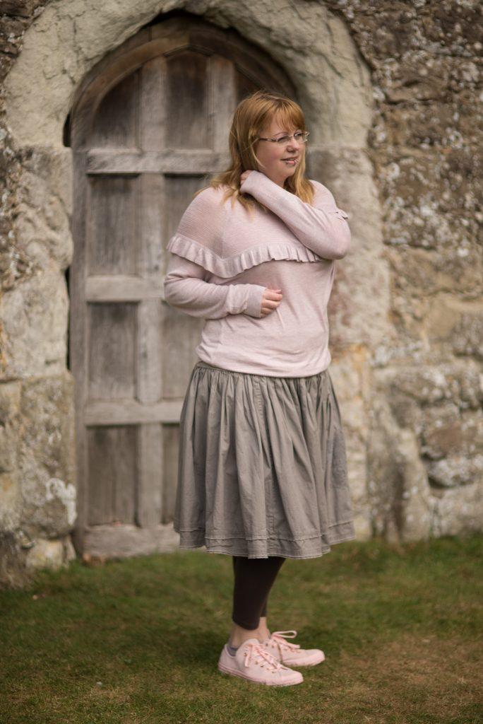 1950's inspired jumper and skirt