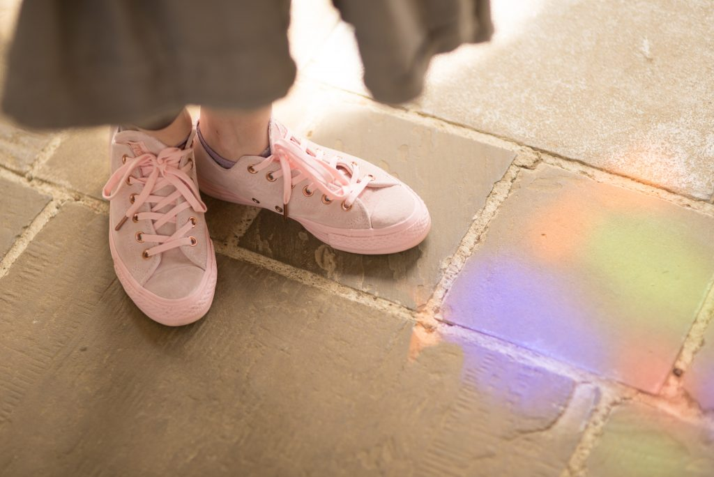 blush pink suede converse