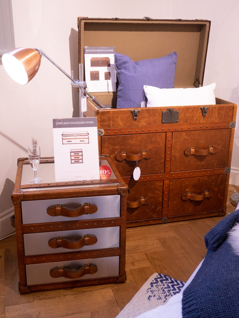 Bedroom furniture at Feather & Black