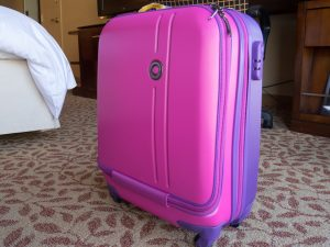 the best pink carry-on luggage