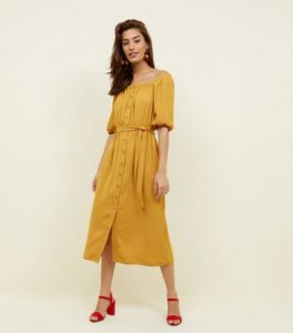 new look yellow dress
