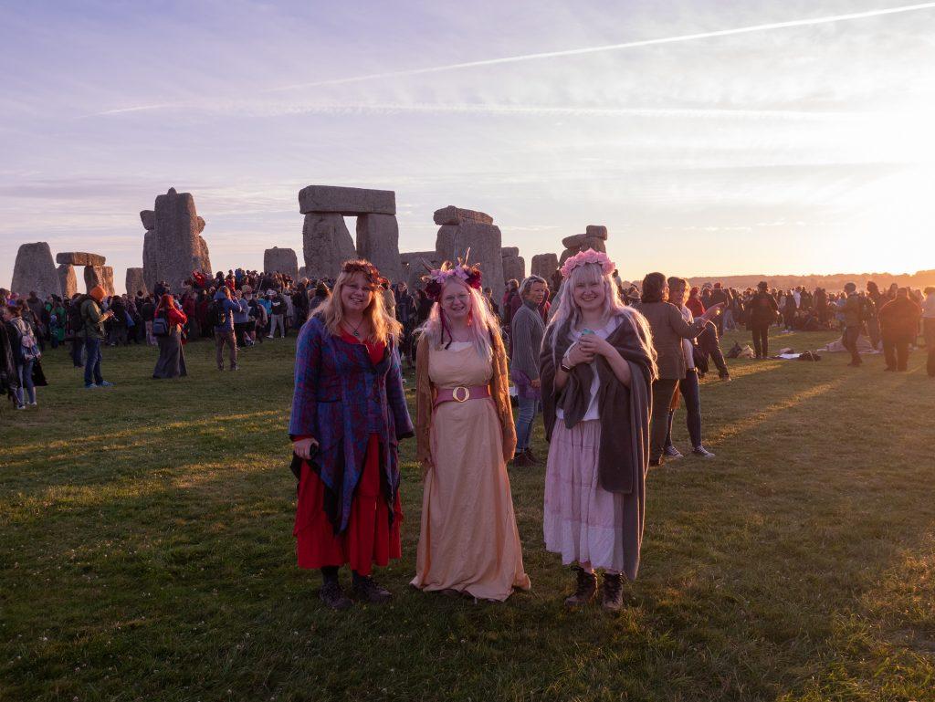 three witches at Stonehenge