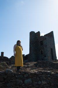 Primark mustard dress