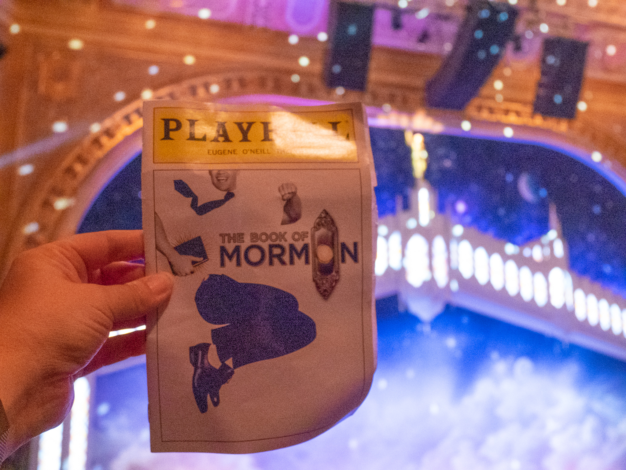Book of Mormon on Broadway review