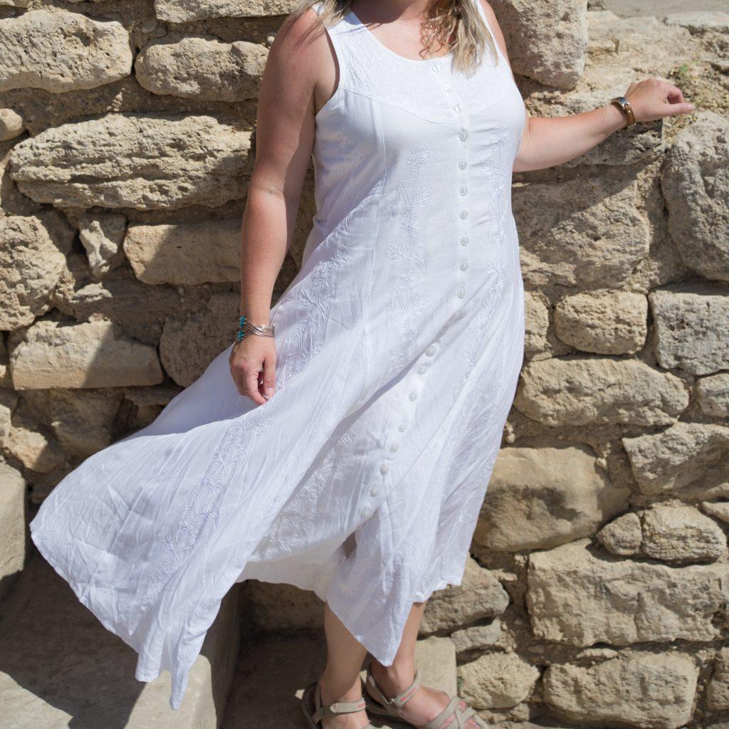 hippy summer dress