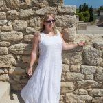 white summer dress inspiration