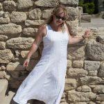 white hippy dresses