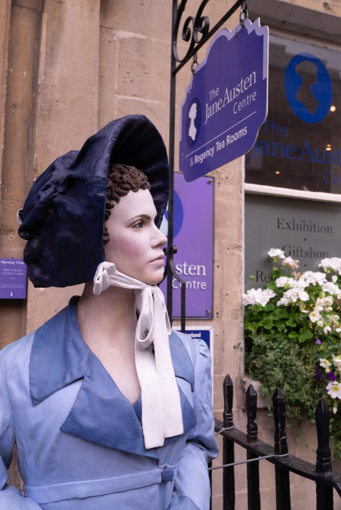 Jane Austen centre museum in Bath, Somerset