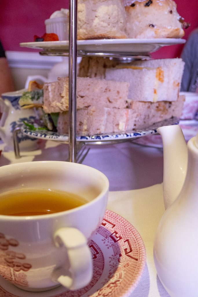 Afternoon tea at the Jane Austen museum in Bath