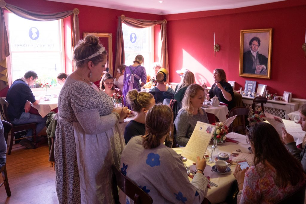 Jane Austen Centre Bath tea rooms