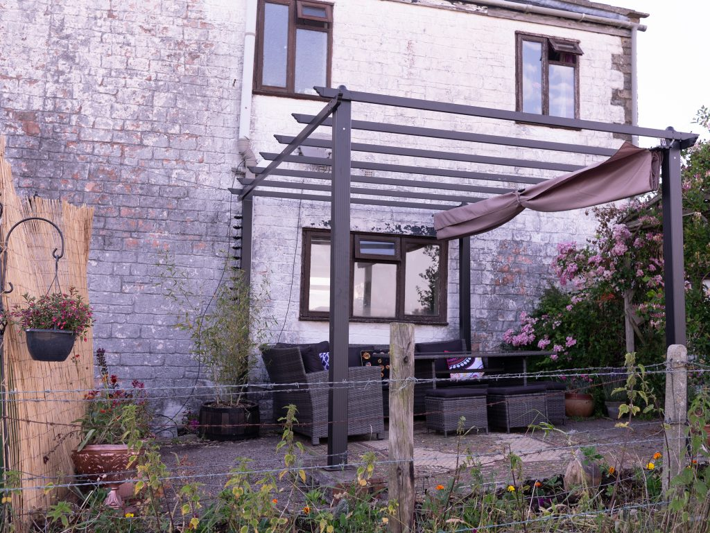 Garden gazebo frame