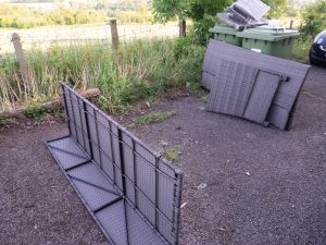 assembling outdoor furniture