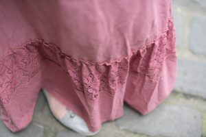 Lace frill detail