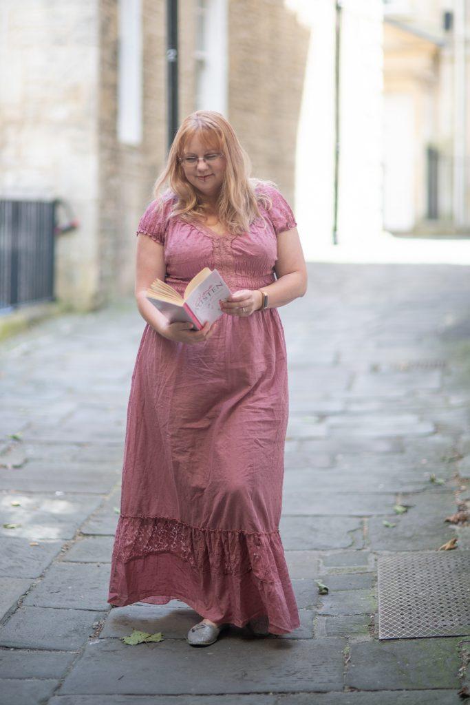 Styling a Jane Austen festival style dress