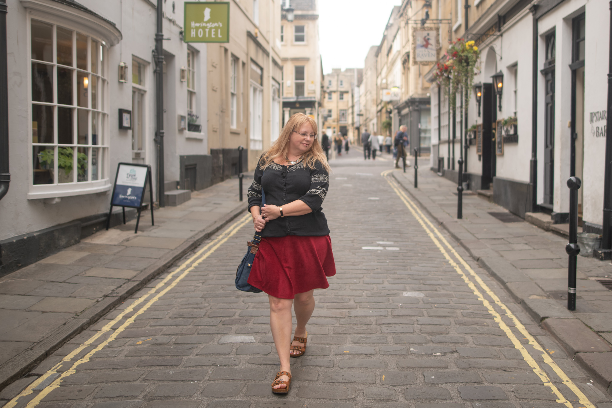 40 plus fashion blogger in Bath, Somerset