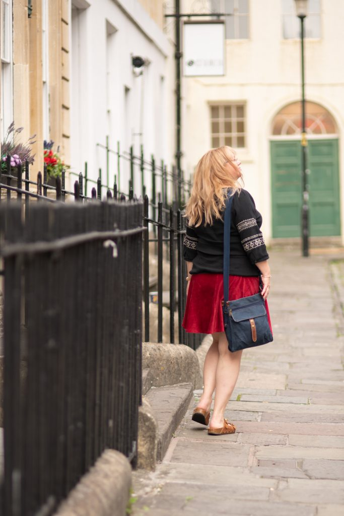 Styling a short skirt over 30