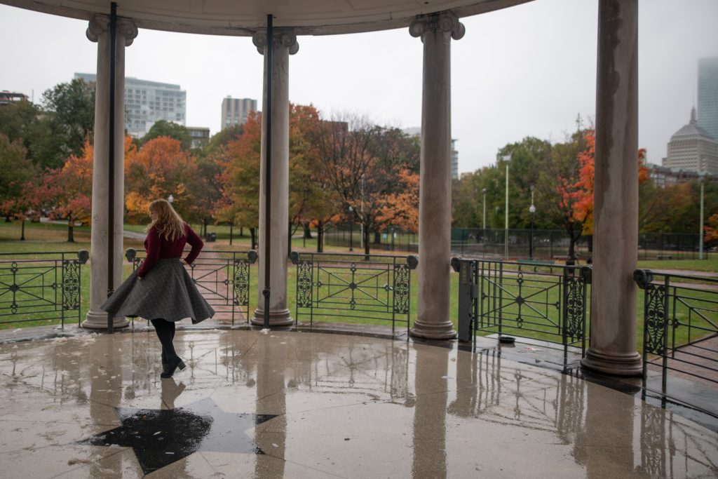 The bandstand at Boston Common