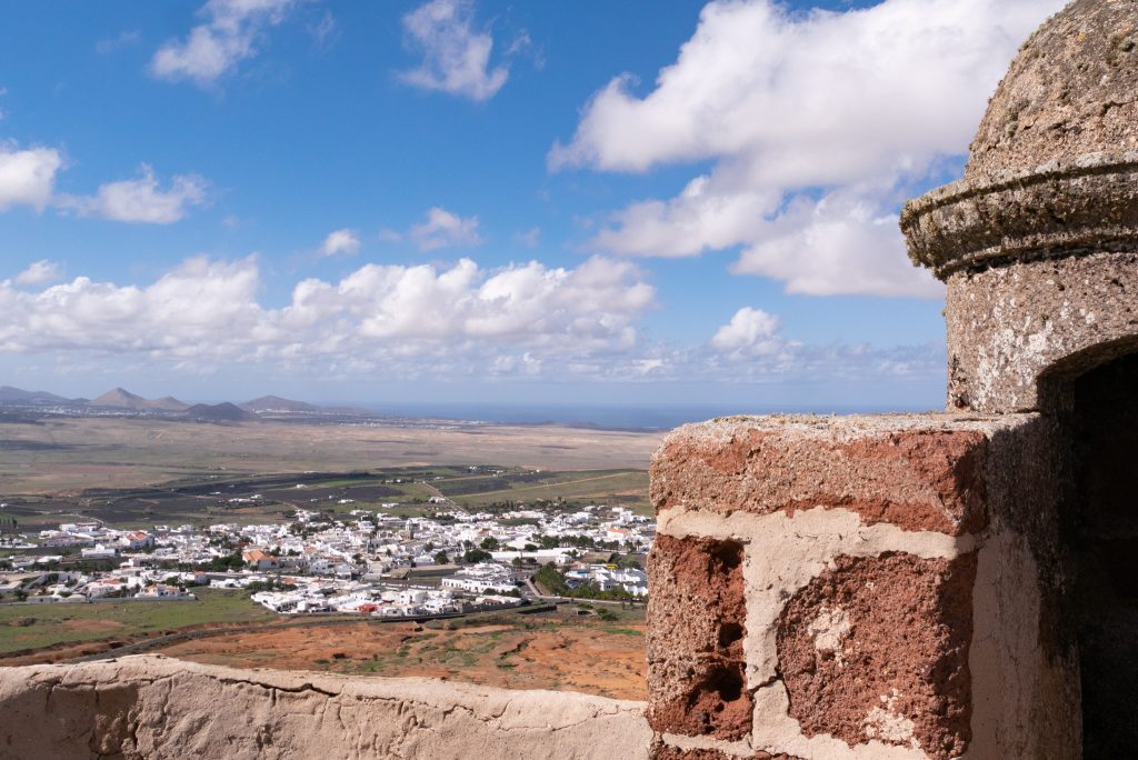 View from the Pirate Museum - places to visit in Lanzarote