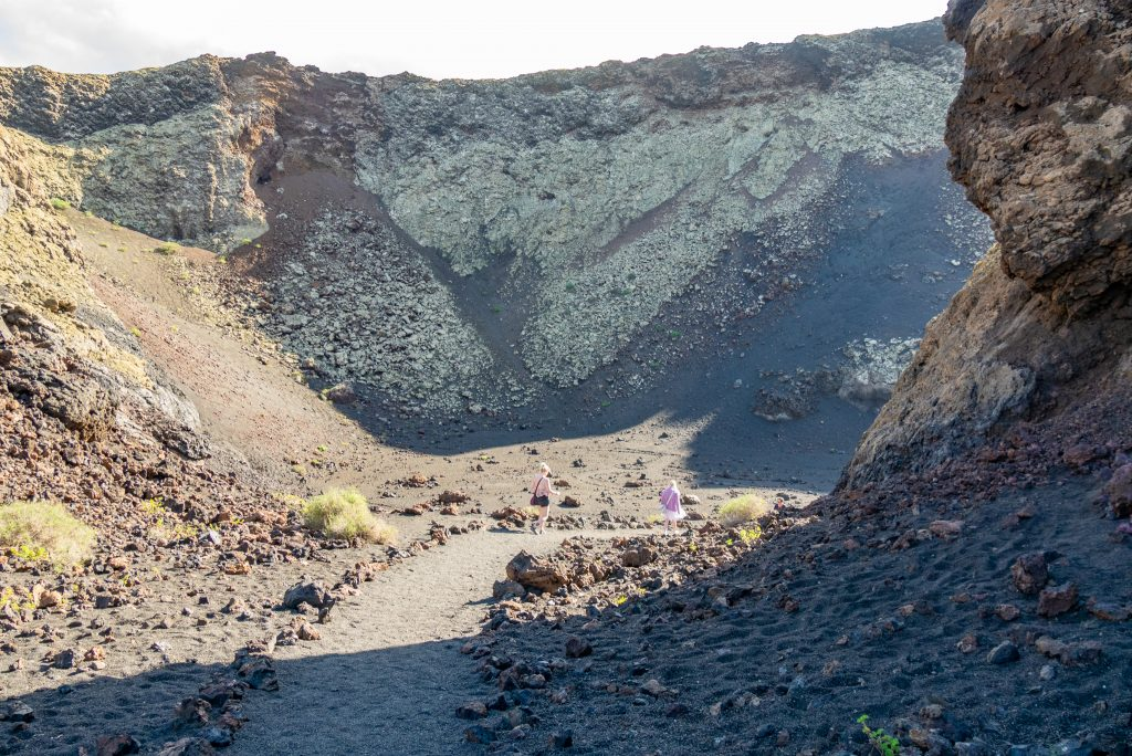 A week in Lanzarote - inside a volcano crater