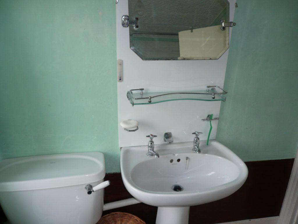 Bathroom renovation blog post