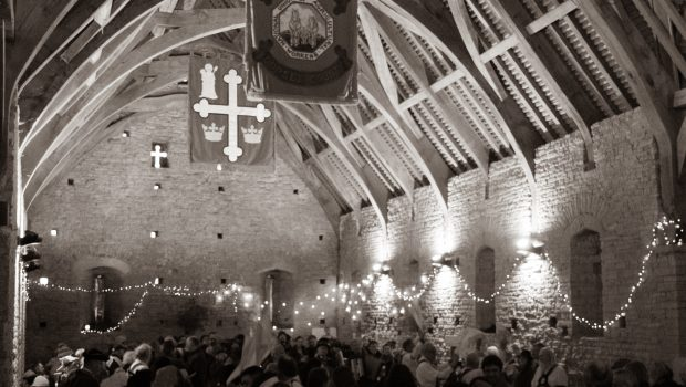 Somerset Wassail at Pilton Tithe Barn
