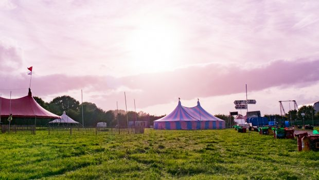 Glastonbury Festival site photos