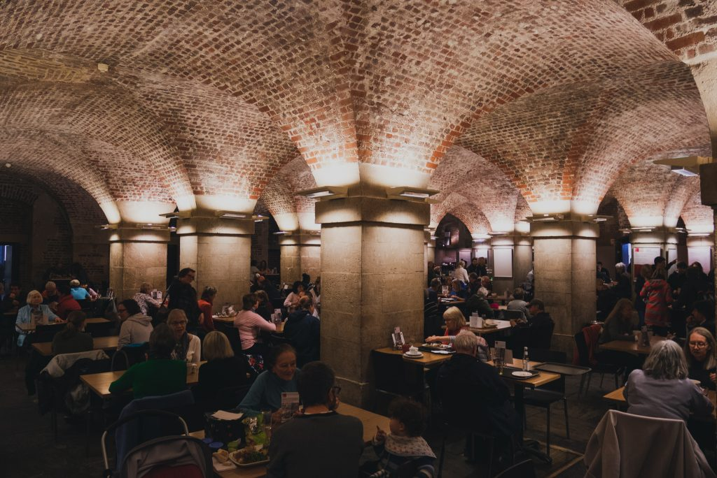 Cafe in the Crypt, St Martin in the Fields, London