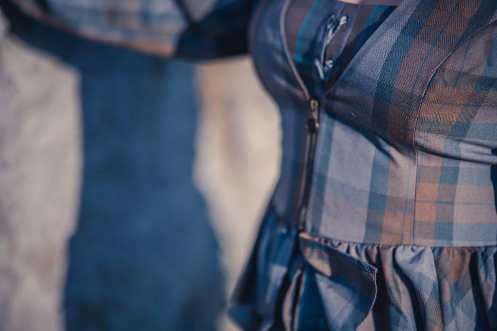 Outlander tartan clothing