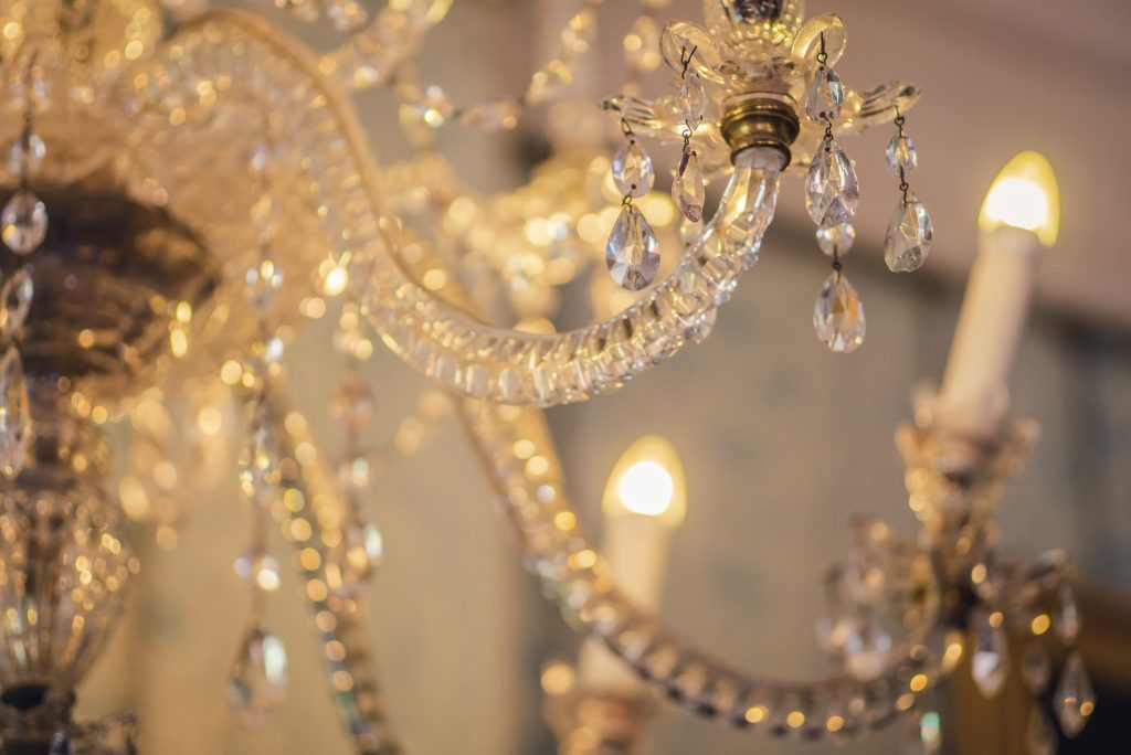 Chandelier at Killerton