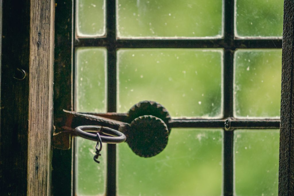 old window at Killerton