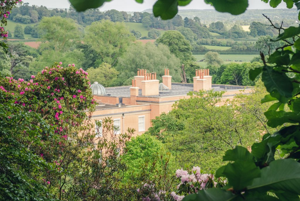 Visiting Killerton in Devon