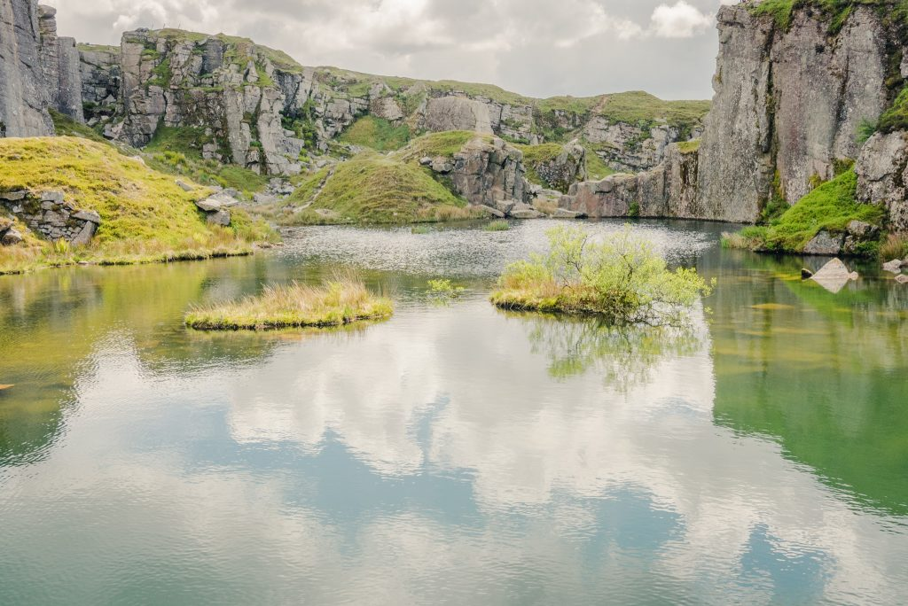 foggintor quarry, visiting Dartmoor