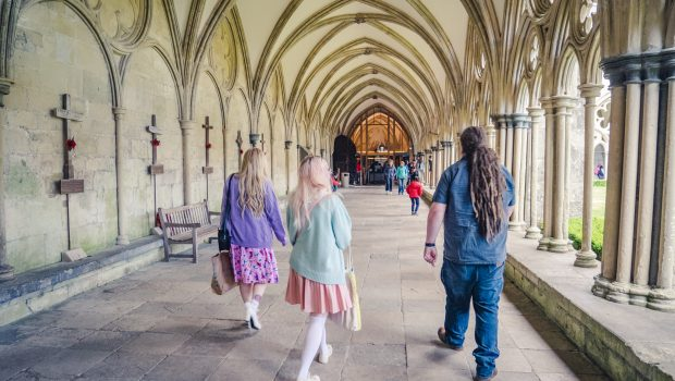 Visiting Salisbury Cathedral