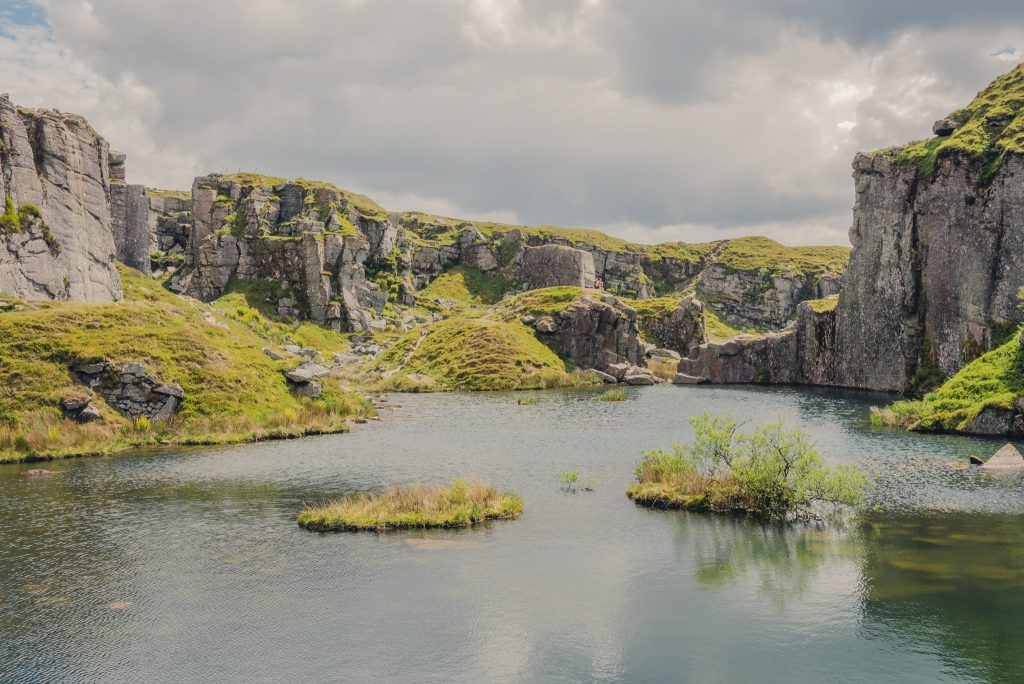 Foggintor quarry - British travel blog