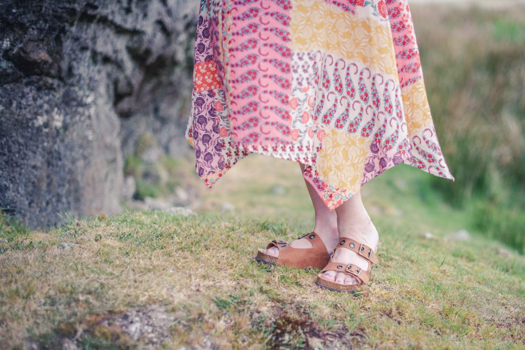 how to style a boho dress