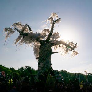 Greenpeace tree