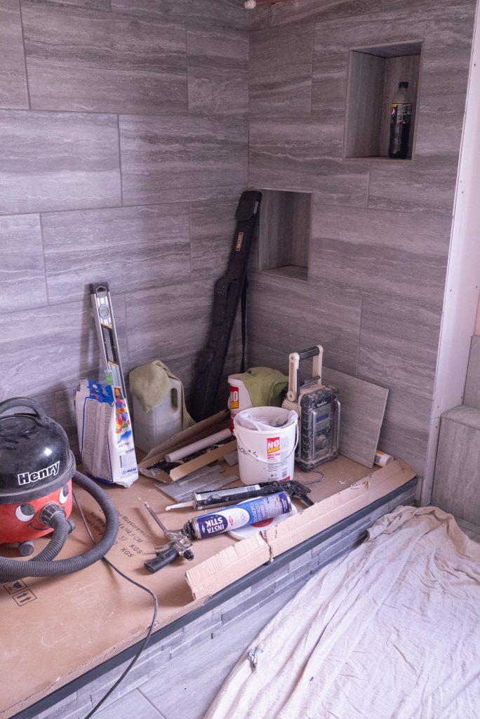 Wickes bathroom renovation