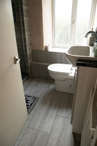 Getting a Wickes bathroom