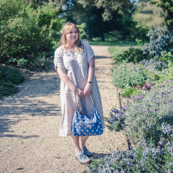 Styling a Cath Kidston spotty bag