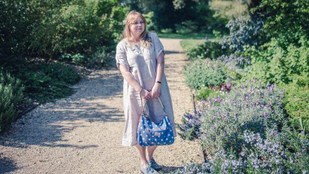 Styling a Cath Kidston spotty bag