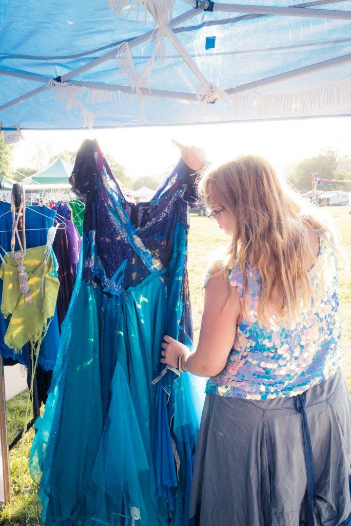 Threads of a Fairytale mermaid dress