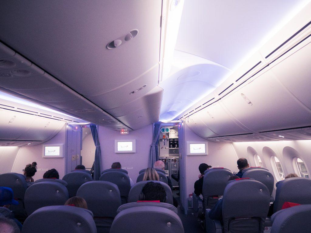 travelling premium economy