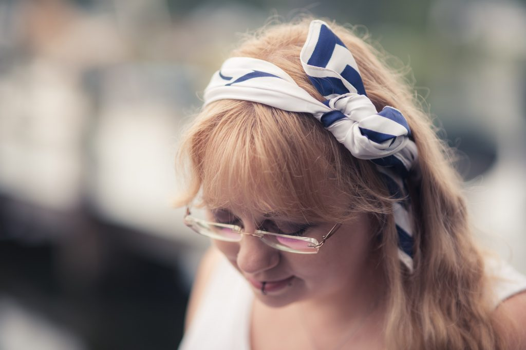 styling a vintage sailor scarf