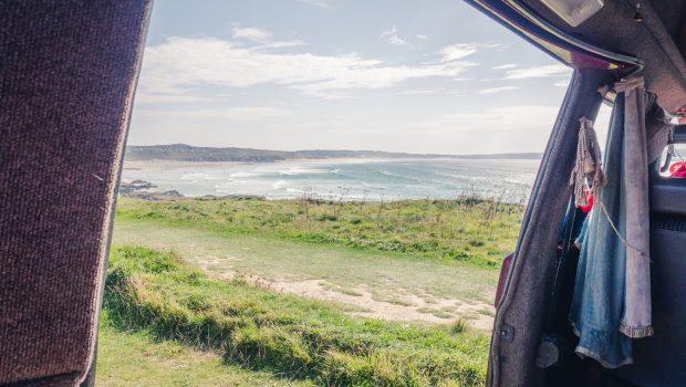 Visiting Godrevy beach, Cornwall