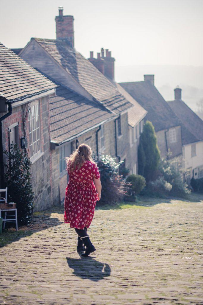 Hovis Hill, Gold Hill in Dorset