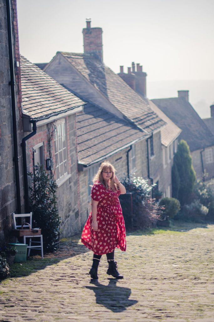 A 1980's vintage St Michael dress