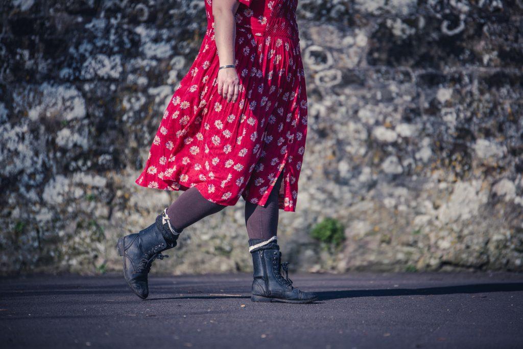 A vintage Marks and Spencer St Michael dress